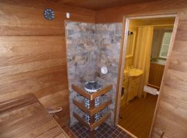 Romantiline sviit saunaga