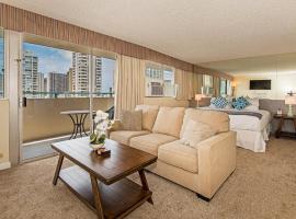 Aloha Surf Ocean View Penthouse Studio