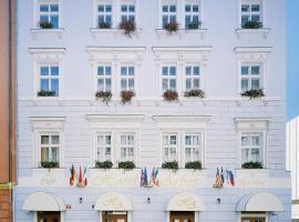 Arbes – hotel w pobliżu miejsca Willa Bertramka w Pradze