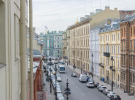 Apartment on Millionnaya 20