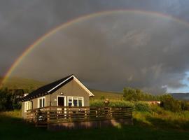 Einarsstaðir - Cozy cabin with excellent view