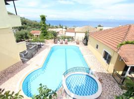 Avra Sea View Paradise Pool Aparthotel, pet-friendly hotel in Moraitika