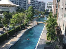 DUSIT GRAND PARK PATTAYA 芭提雅 市区超大泳池 网红 公寓