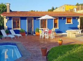 Estudio/Apartamento con piscina en el Salnés