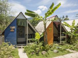 Beach Shack Chalet - Garden View Aframe Small Unit, Hotel in Pulau Tioman