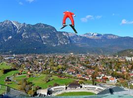 Olympiahaus, hotel near Olympic Ski Jump, Garmisch-Partenkirchen
