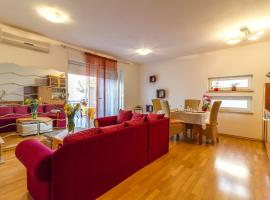 New apartment Lory with a pool and sea view