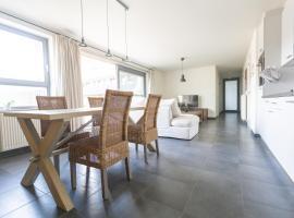 Nieuwbouw appartement op toplocatie met zongericht terras, self catering accommodation in Nieuwpoort