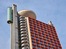 Hyatt Regency Barcelona Tower, hotel in Hospitalet de Llobregat