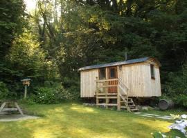 'Morris' the shepherd's hut