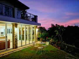 Hilltop big villa with private swimming pool