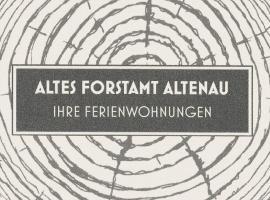 Altes Forstamt Altenau