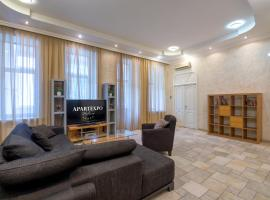 Apartment on Arbat with jacuzzi and sauna