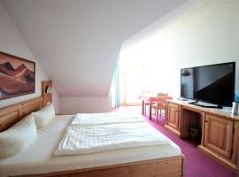 Ruhiges Doppelzimmer im Hotel Ahornhof