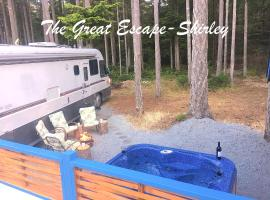 The Great Escape - Shirley - Secluded with Hot Tub
