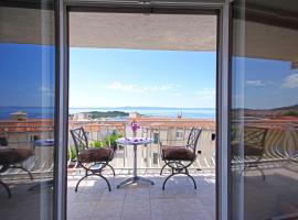 Makarska sea view rooms