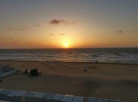 Studio de Haan vue sur mer, budget hotel in De Haan