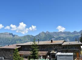 ALTE SEKTION und Alpenblick