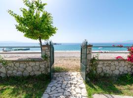 Beachfront Villa Barbati
