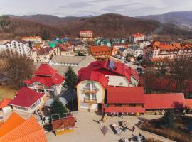 Kvasova Voda, готель у Поляні