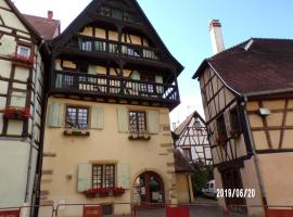 4 bedrooms luxury appartment for 10p in Eguisheim, 10 mn from Colmar, hotel in Eguisheim