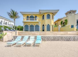 R&H - Luxury 4BR Palm villa with private pool and beach