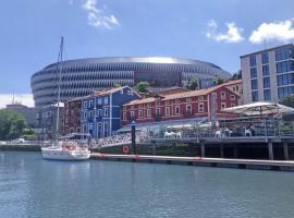 River Side Olabeaga by homebilbao, budget hotel in Bilbao