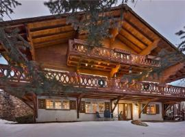 Senner Chalet - Authentic Private Mountain Home with Hot Tub