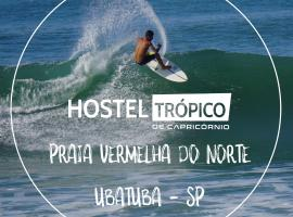 Hostel Trópico de Capricórnio - Praia Vermelha do Norte