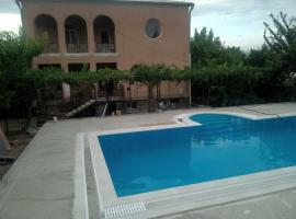 Villa with pool Saguramo garden