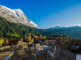 Hotel Kreuz&Post**** Wandern&Golf, hôtel à Grindelwald