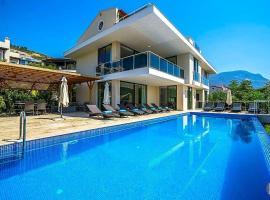 Kalkan Villa Sleeps 16 Pool Air Con WiFi
