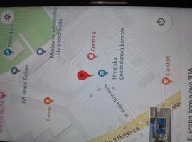 Nocenje u centru grada, Karlovac