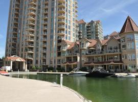 Waterfront 2 Bedroom Resort Condo in Downtown Kelowna