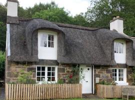 Glencroft A Fairytale thatched highland cottage