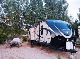 Outdoor Glamping Fully Setup RV OK60