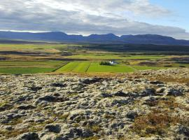 Farmhouse by the golden circle