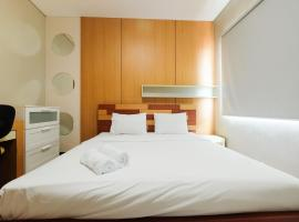 Compact Minimalist 1BR Apartment at Thamrin Residence By Travelio