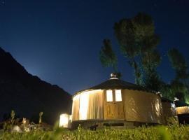 Roomy Yurts at Marco polo Inn Hotel