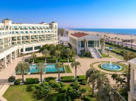 Hotel cinco estrellas valencia