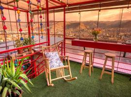 Panoramic Rooftop B&B - San Blas, budget hotel in Cusco