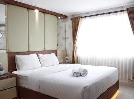 Gorgeous 2BR with City View at Apartment Tera Residences By Travelio