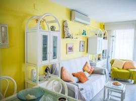 Acogedor apartamento en primera linea de playa
