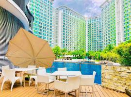 Azure by CK with Wavepool Whitesand Near Mall Airport