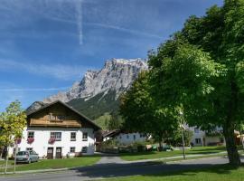 Apartment Kirschbaum 1, pet-friendly hotel in Ehrwald