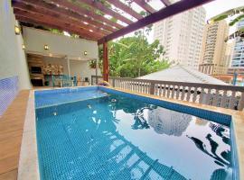 Meu Lugar na Praia - Pitangueiras, hotel in Guarujá