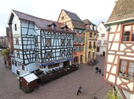 Gîte Le Rouge-Gorge - Cœur de Riquewihr - 2 personnes, hotel in Riquewihr