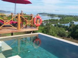 Sunset Point Villa With Private Pool, hotel in Gili Gede