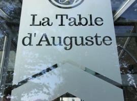La table d'Auguste