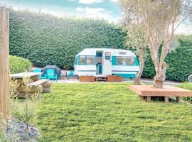 MountViews Glamping- retro caravan getaway